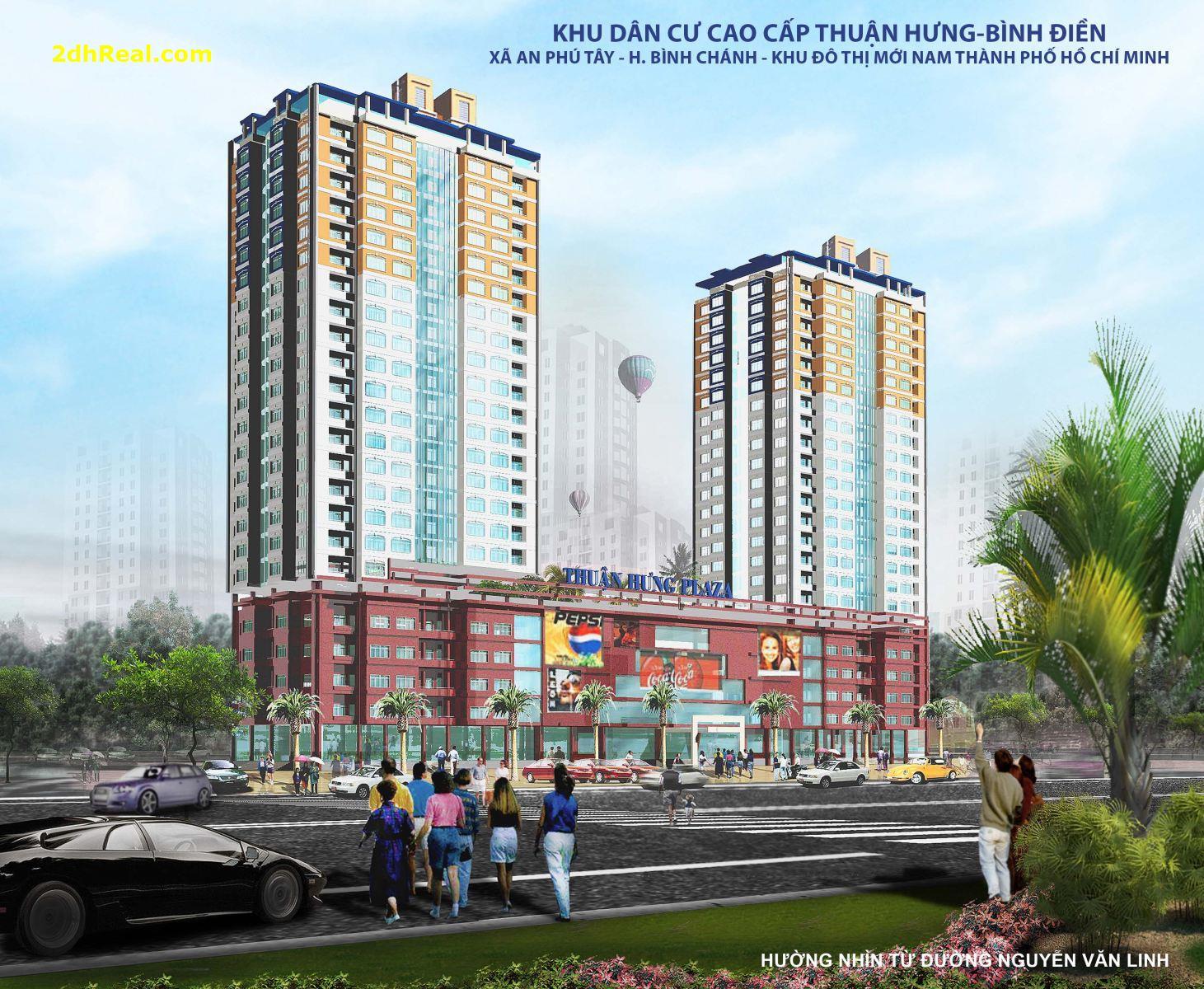 Chuyển nhượng khu Đất 2,2 ha với dự án khu dân cư cao cấp @ : xã An Phú Tây – huyện Bình Chánh – TP.HCM