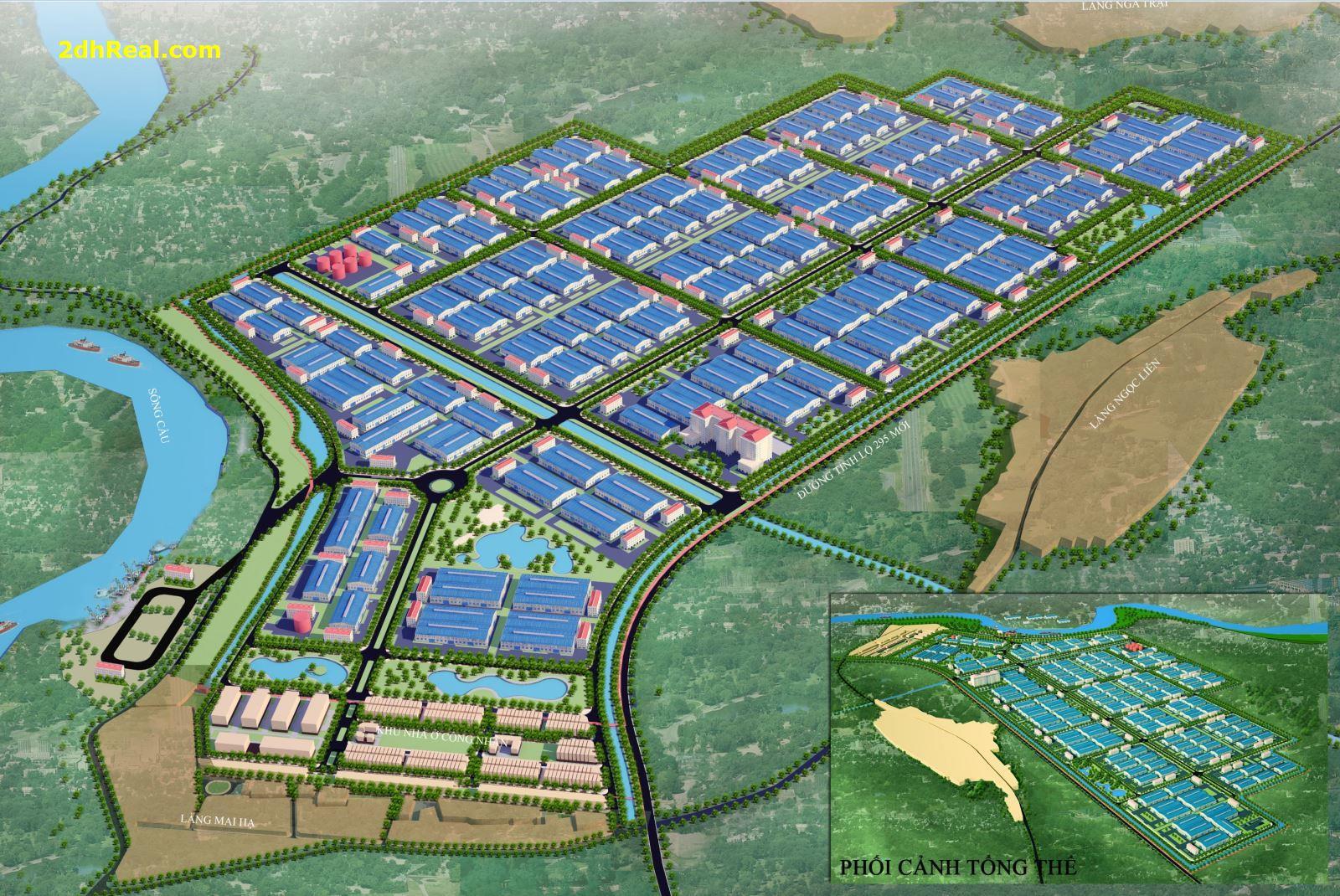 Tìm nguồn đầu tư tài chính dài hạn dự án KCN Đức Hòa III - Long Việt 86,49ha, tỉnh Long An