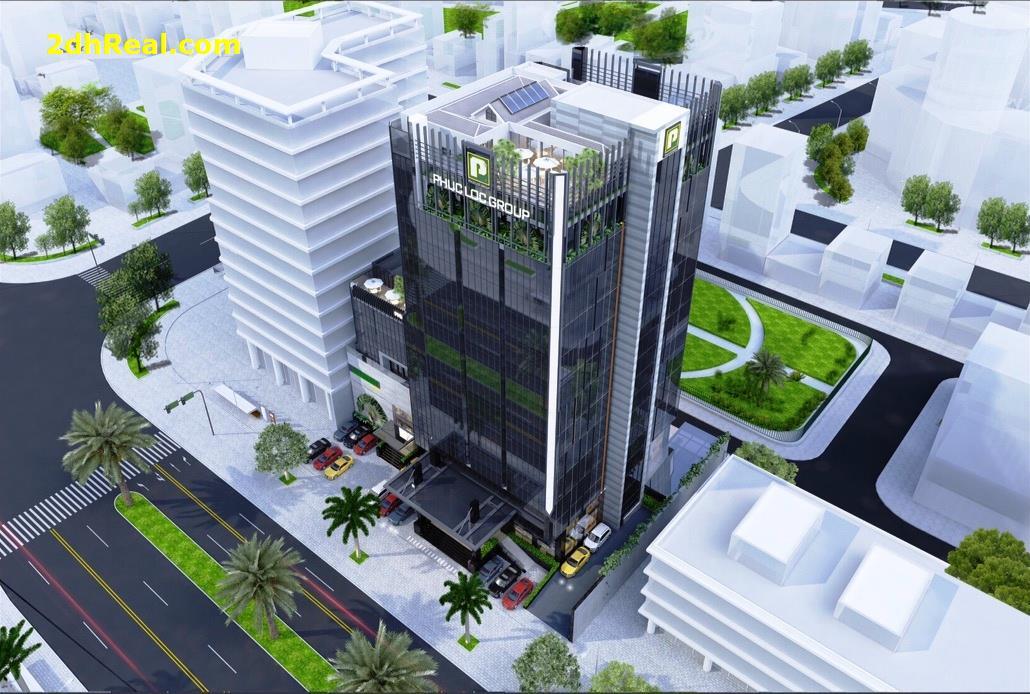 [BÁN] toà nhà LOD (chủ hiện tại là tập đoàn Phúc Lộc) trên đường Trần Thái Tông.