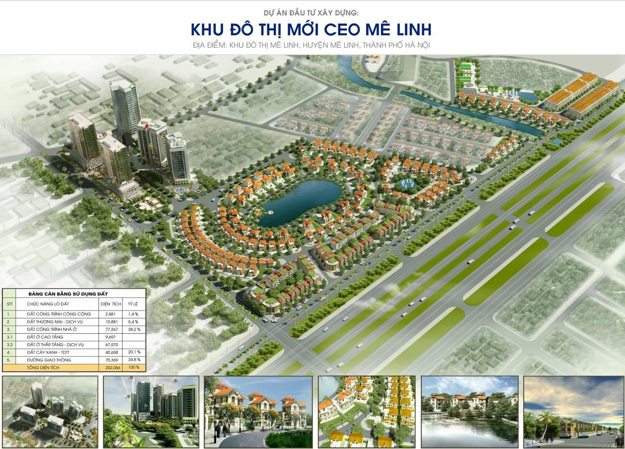 Chủ đầu tư Khu đô thị mới CEO Mê Linh hơn 20ha là ai?