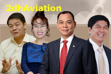 Tài sản người giàu Việt Nam tăng mạnh, thêm 2 nhân vật tiệm cận danh sách tỷ phú USD